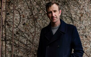 Portrait of author Robert Macfarlane